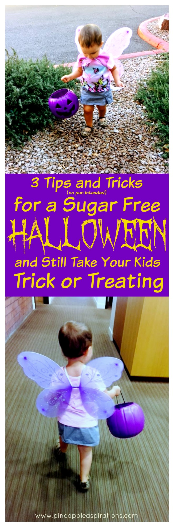 3 Tips and Tricks for a Sugar Free Halloween and Still go Trick or Treating
