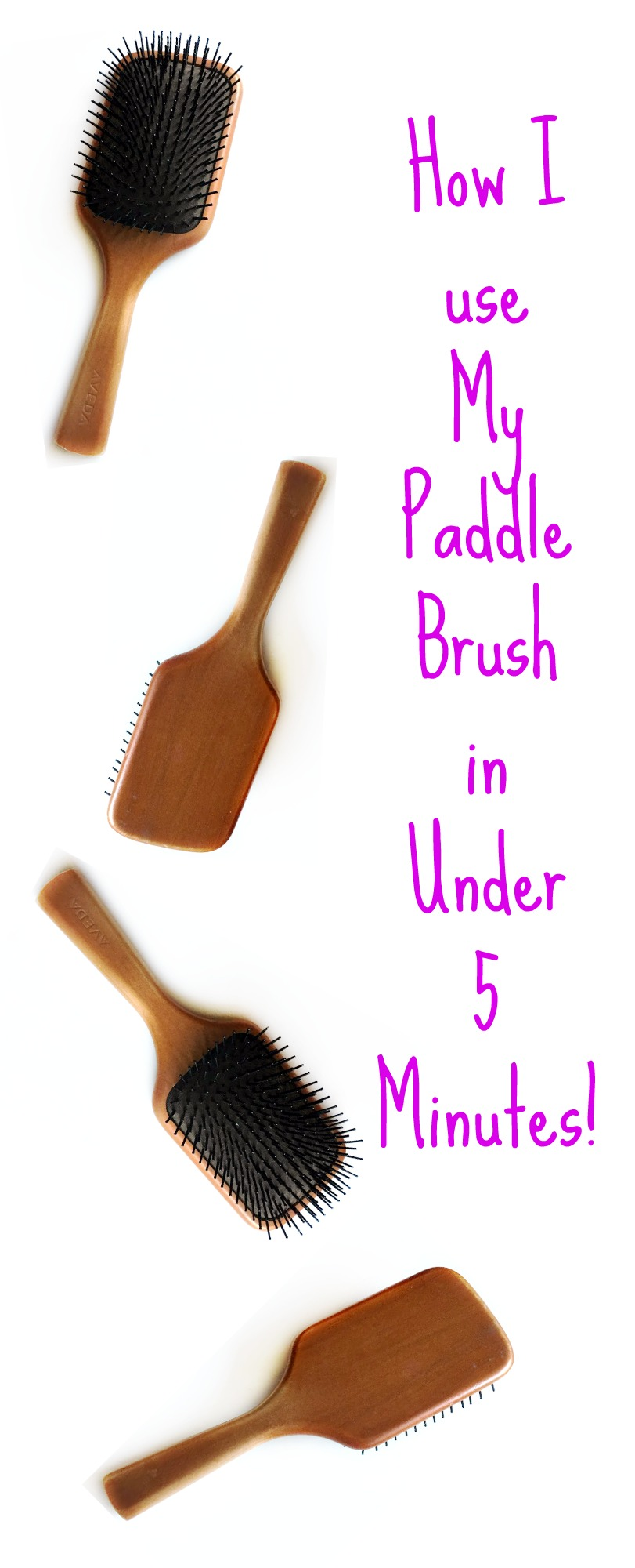 How I use my Paddle Brush in 5 Minute