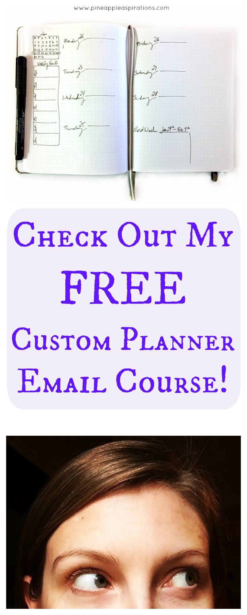 My Custom Planner Free Email Course