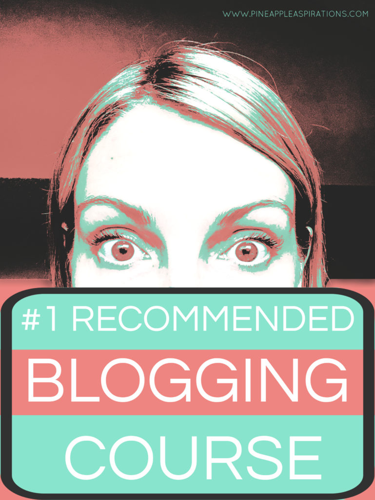 #1 Recommended Blogging Course