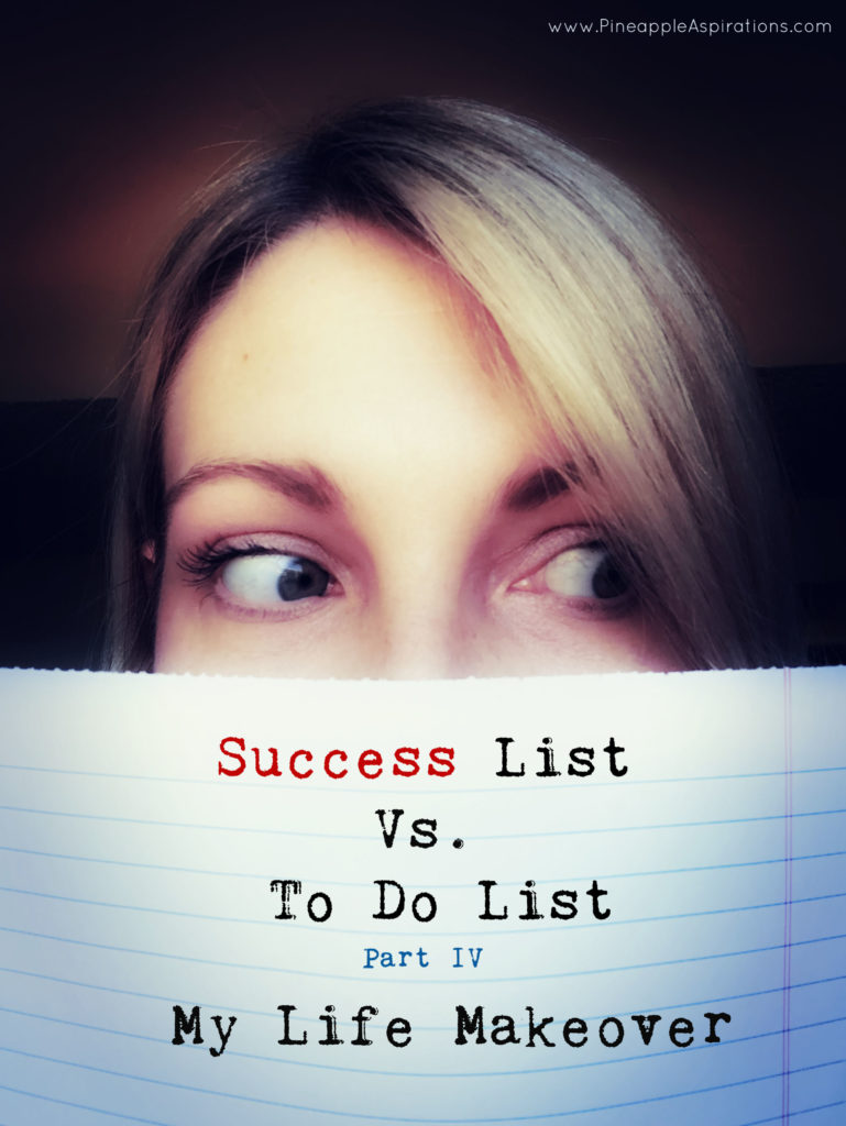 Success List Vs. To Do List